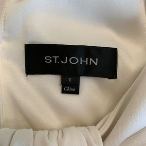 f9feb6de121 St. John Pants - St. John Classic Cady Wide-Leg Halter Jumpsuit